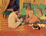 Femmes nues aux chats (Naked Women with Cats)