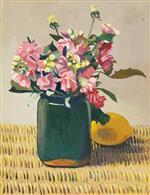 Flowers and Lemon