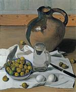 Large Jug, Pears and Eggs