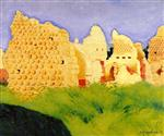 Ruins at Souain, Sunset