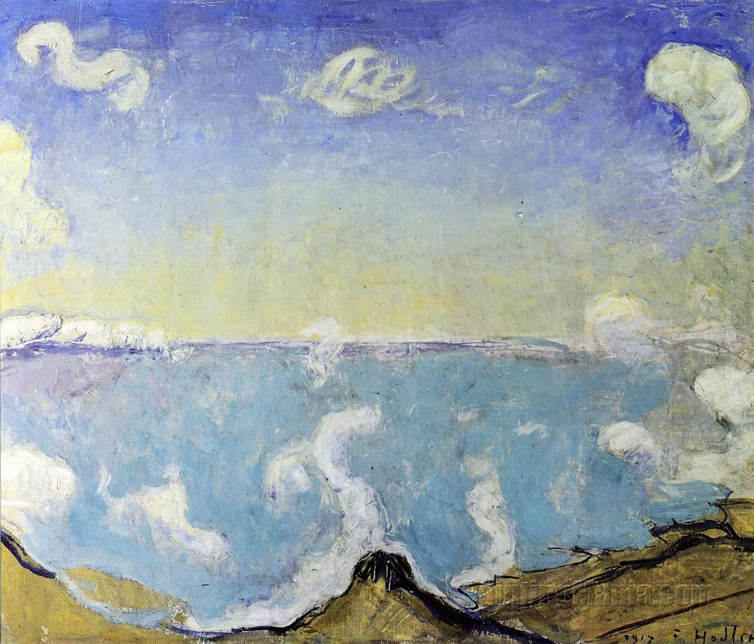 Caux Landscape with Rising Clouds