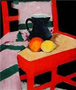 The Red Chair (The Blue Jug)