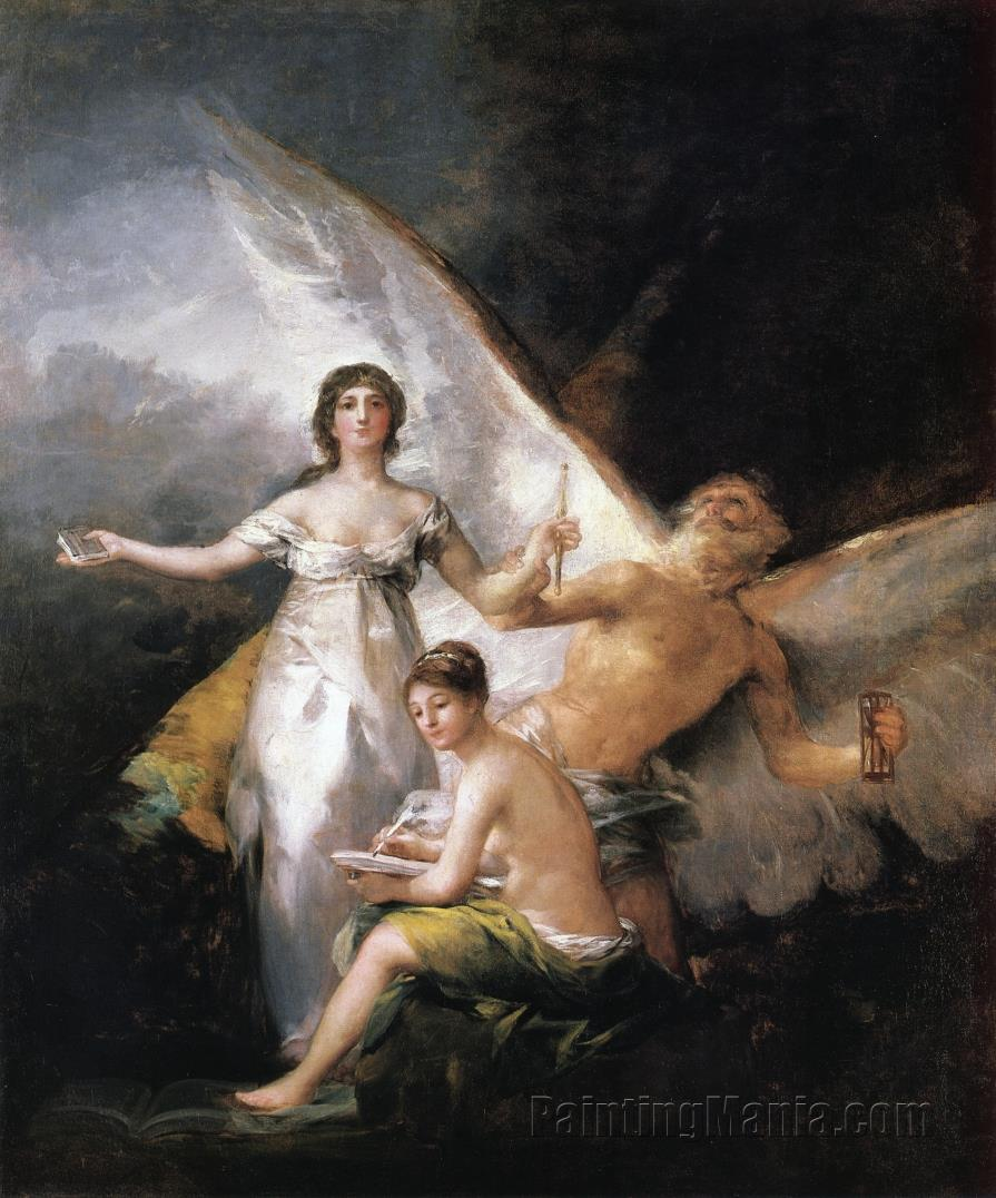 Allegory on the Adaption of the Constitution of 1812