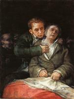 Goya Attended by Doctor Arrieta