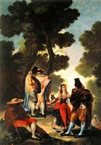 The Maja and the Masked Men