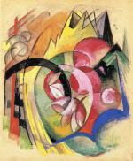 Coloful Flowers (Abstract Forms)
