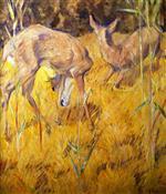 Deer in the Reeds