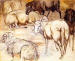 Flock of Sheep II