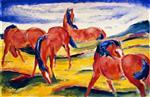 Grazing Horses II
