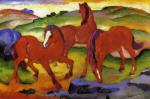 Grazing Horses IV (The Red Horses)