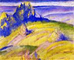 Landscape: Foothills of the Alps