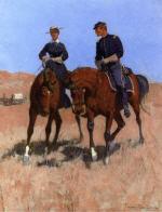 Belle McKeever and Lt. Edgar Wheelock