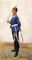 Infantry Officer, Full Dress