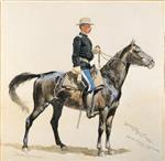 Lieutenant Casey Commandant of Cheyenne Scouts