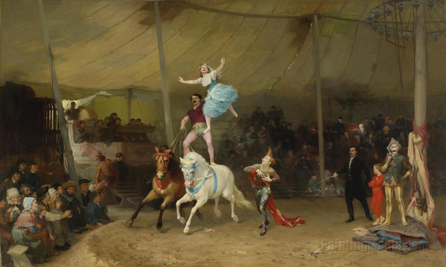The American Circus in France