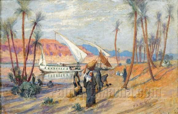 Felouques sur le Nil