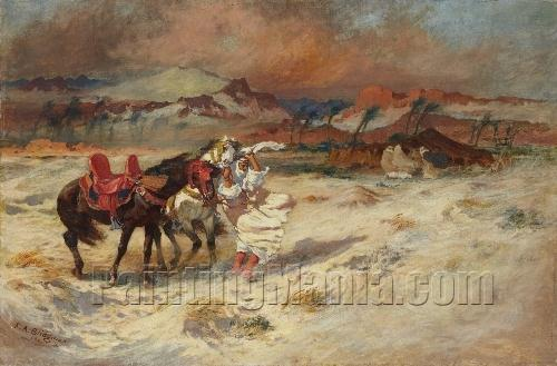 A Horseman in the Storm