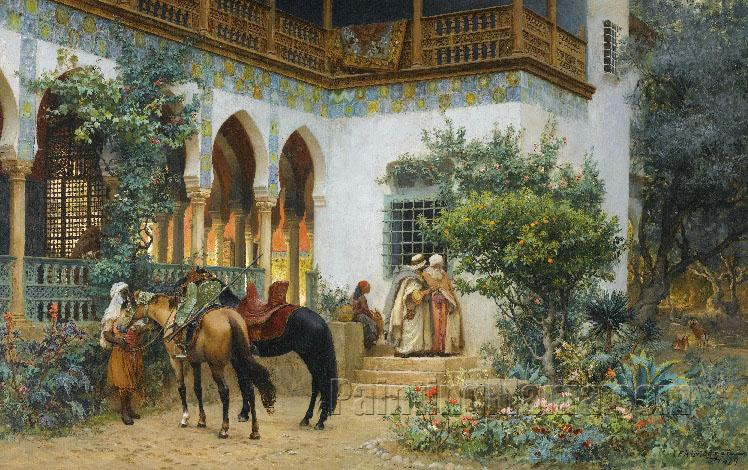 A North African Courtyard