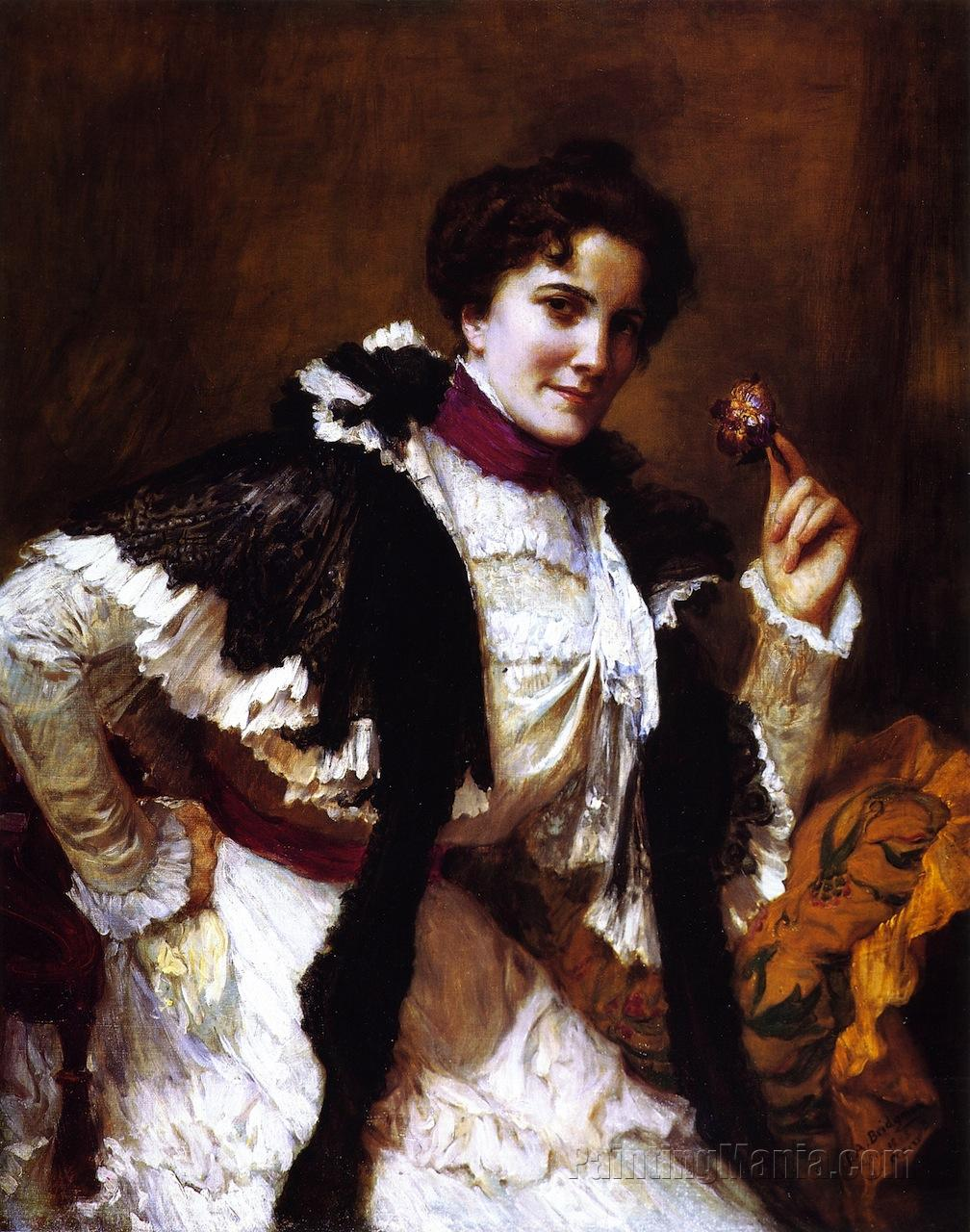 A Woman with a Posy