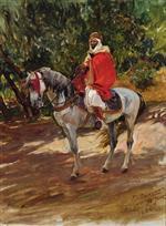 Arab on Horseback