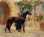 Barbary Horses at Cairo