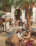 A Fondouk in Laghouat. Algeria