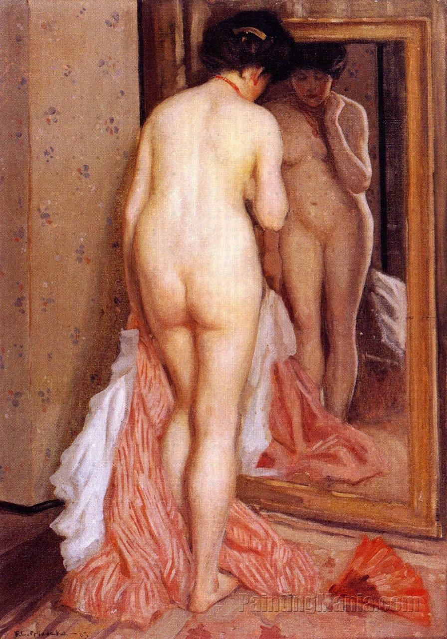 Before the Mirror (Nude)