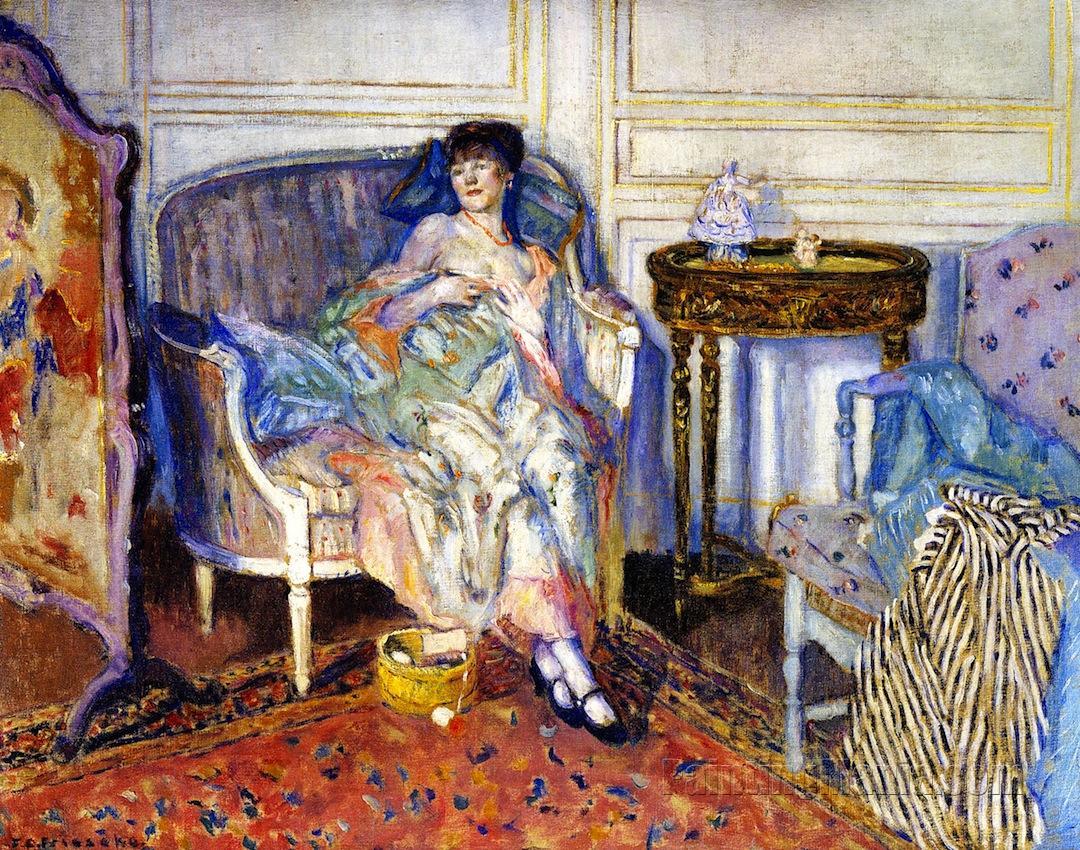 In the Boudoir 1914