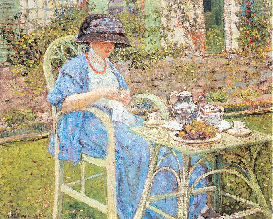 Breakfast in the Garden