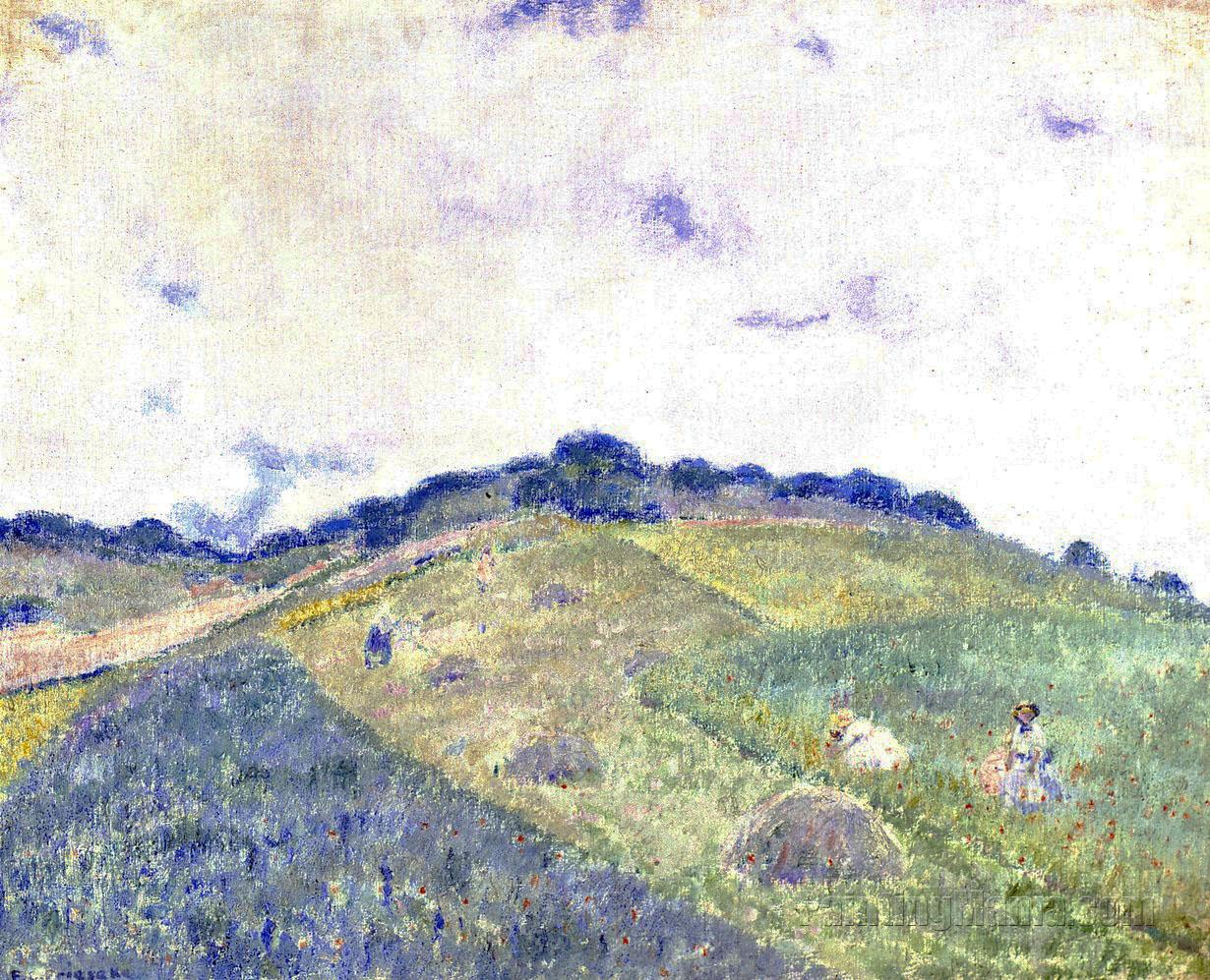 Hill at Giverny