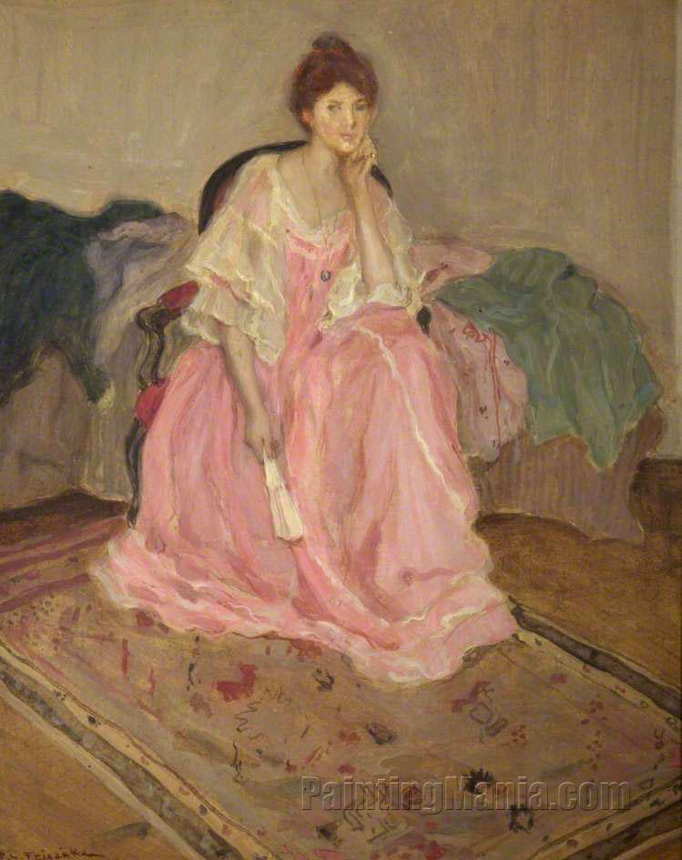 Lady in Pink
