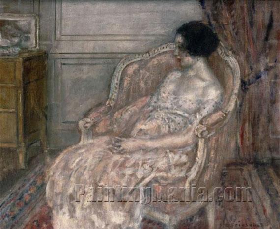 Woman in Her Boudoir