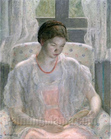 Young Girl with Mirror