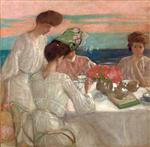 Afternoon Tea on the Terrace (from the Hotel Shelburne Murals)