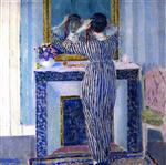 Blue Interior (The Red Ribbon)