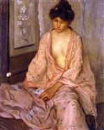 Girl in Pink (The Pink Kimono)
