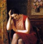 Portrait of a Girl (Pensive Model)