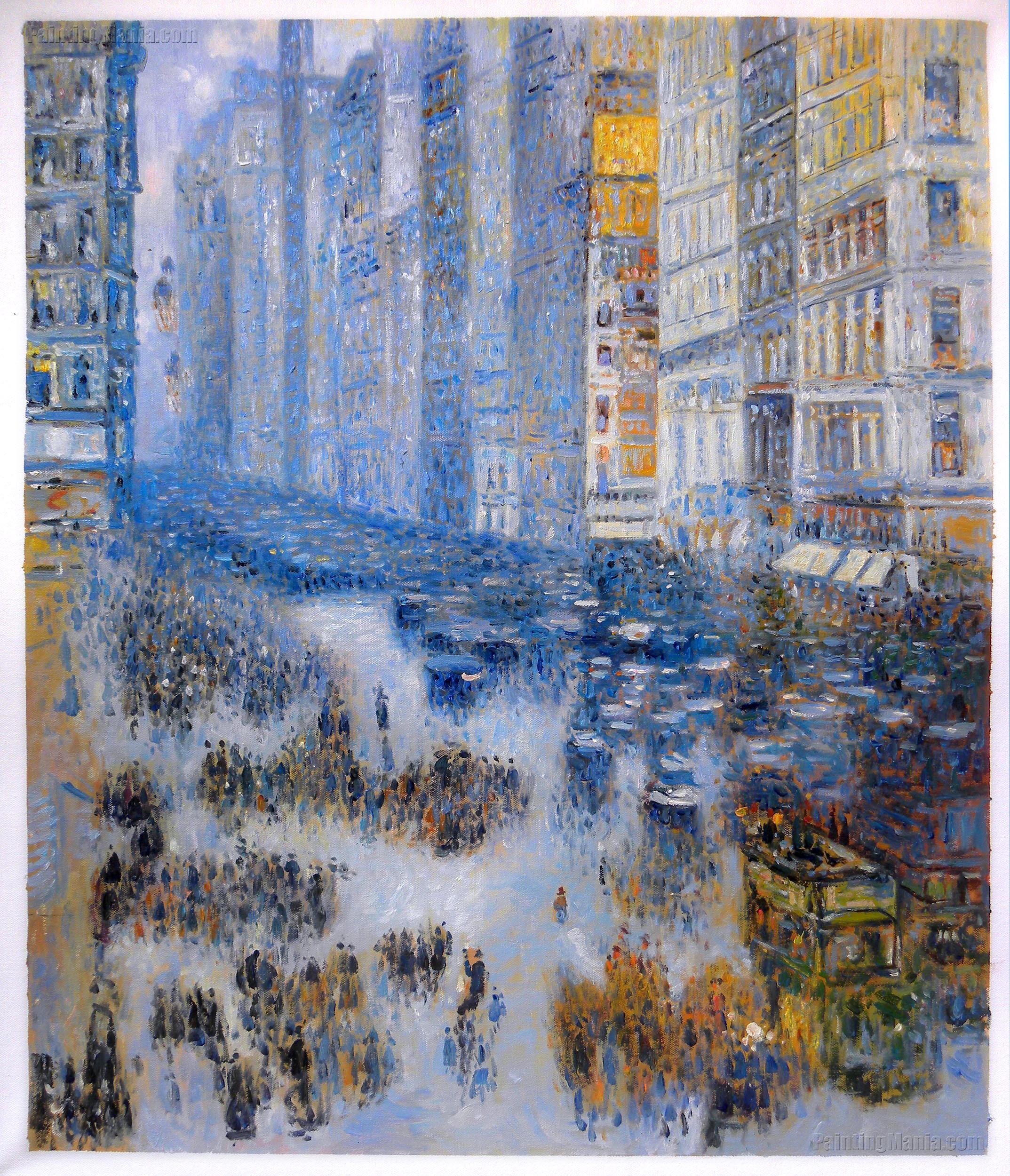 Fifth Avenue in Winter 1919