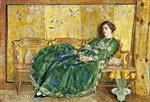 April. The Green Gown