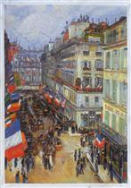 July Fourteenth, Rue Daunou