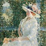 An Outdoor Portrait of Miss Weir