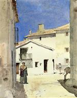 A Street in Denia, Spain
