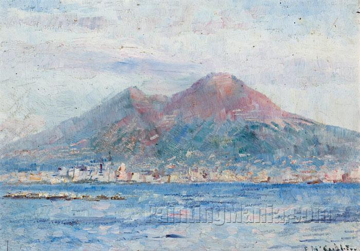 mount vesuvius naples frederick mccubbin paintings