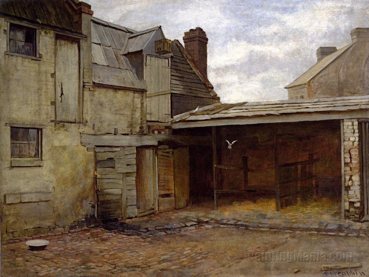 Old Stables Frederick Mccubbin Paintings