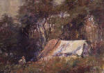 A Camp in the Bush. Macedon