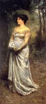 A Lady in Grey (Portrait of Mrs. McCubbin)