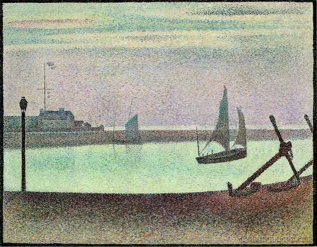 The Channel at Gravelines, Evening