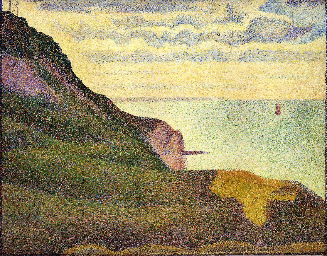 Port-en-Bessin, the Semaphore and Cliffs
