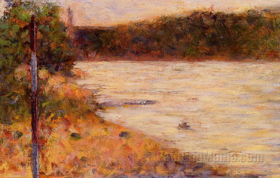 A River Bank (The Seine at Asnieres)
