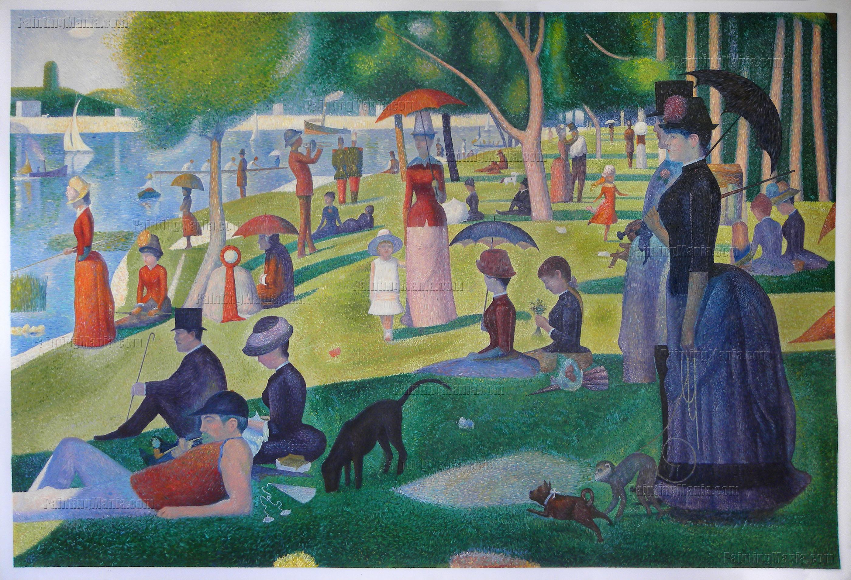 Image result for sunday on the island of la grande jatte